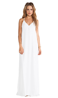 ROBE MAXI DOVE RELAXED