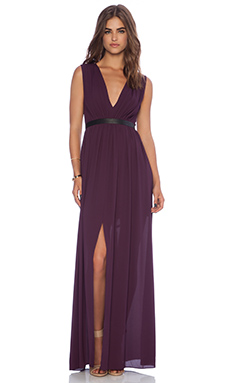 Alice + Olivia Denise Maxi Dress in Kir Royale