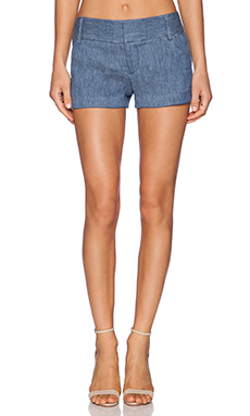 Alice + Olivia Cady Short in Oxford Blue