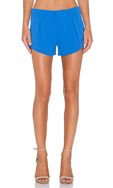 Alice + Olivia Butterfly Short in Umbrella Blue