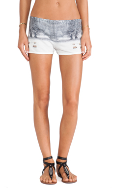 All Things Fabulous Track Shorts in Sheep Farm