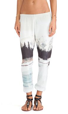 All Things Fabulous Sweatpants in Frozen Lake