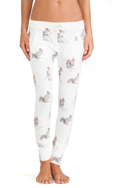 All Things Fabulous Squirrel Long Janes in White
