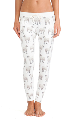 All Things Fabulous Sheep Long Janes in White