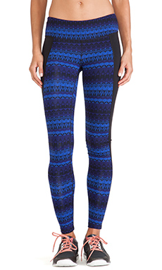 alo Illusion 3 Legging in Arctic Royalty & Black
