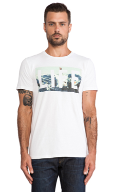 T-SHIRT GRAPHIQUE LIFE DIRTY OLD WEDGE
