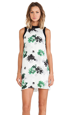 A.L.C. Drie Dress in White Floral
