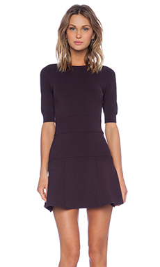 A.L.C. Mica Dress in Dark Purple