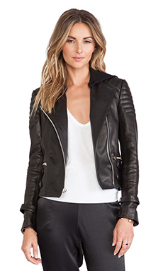 A.L.C. Night Jacket in Black