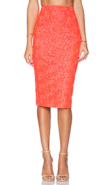 A.L.C. Towner Skirt in Neon Pink