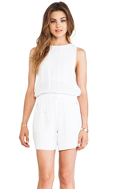 A.L.C. Adam Romper in White