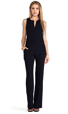 A.L.C. Olive Jumpsuit in Navy
