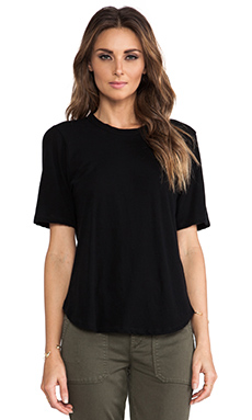 A.L.C. Erin Tee in Black