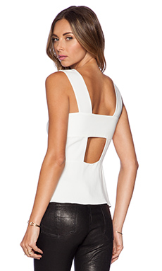A.L.C. Katz Top in White