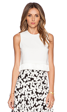 A.L.C. Kennedy Top in White