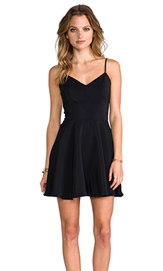 Amanda Uprichard Bowery Dress in Black