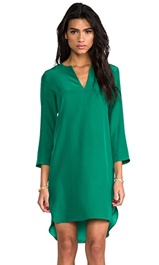 Amanda Uprichard Sharon Sheath Dress in Green