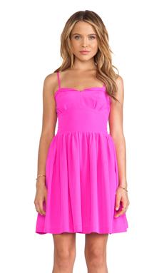 Amanda Uprichard Mimosa Dress in Hot Pink