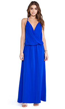 Amanda Uprichard X REVOLVE Crossover Maxi Dress in Royal