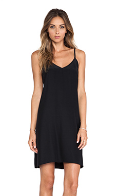 Amanda Uprichard Multi Strap Dress in Black