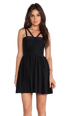 Amanda Uprichard Cynthia Dress in Black