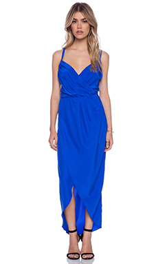 Amanda Uprichard Miles Dress in Royal