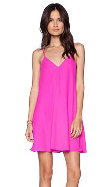 Amanda Uprichard Jamily Dress in Hot Pink