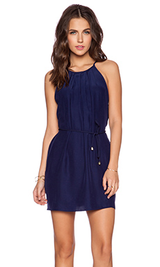 Amanda Uprichard Perry Dress in Navy Light