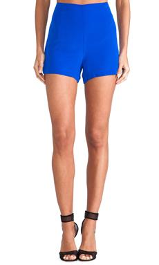 Amanda Uprichard High Waisted Shorts in Royal