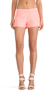 Amanda Uprichard Queen Shorts in Neon Ballet