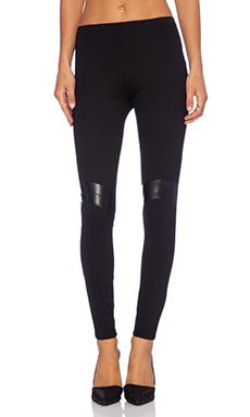 Amanda Uprichard Moto Leggings in Black