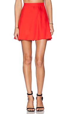 Amanda Uprichard Circle Skirt in Poppy