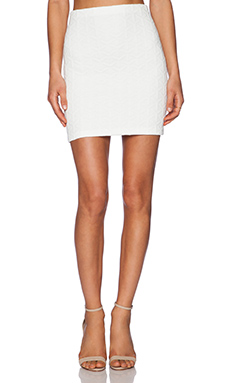 Amanda Uprichard Pencil Skirt in White