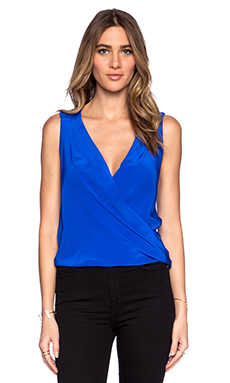 Amanda Uprichard Thalia Top in Royal