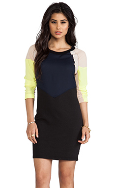 April, May Tanya Dress in Lemon
