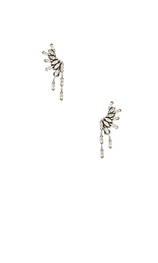 Amber Sceats Juliette Ear Cuff in Clear