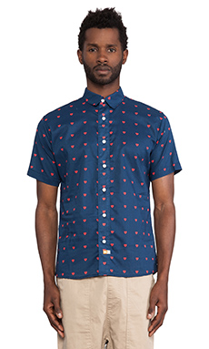 Ambsn Lurve Shirt in Navy