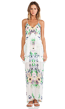 Alice McCall Violet Blonde Maxi Dress in Forget Me Not