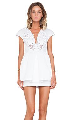 Alice McCall She Said She Said Dress in White