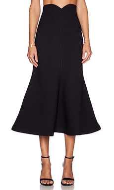 Alice McCall Smile Because Skirt in Black