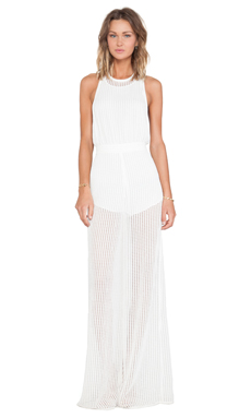 Alice McCall Long Walks Jumpsuit in White