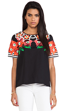 Alice McCall England & Scotland Top in Black