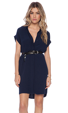 American Vintage Holiester Dress in Navy