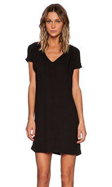 American Vintage Magdalena Shift Dress in Carbon