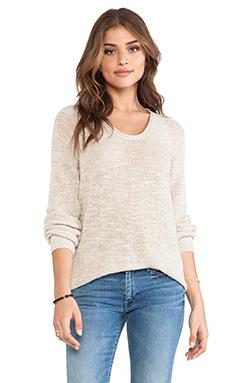 American Vintage Gatlingburg Sweater in Pearl Melange