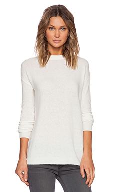 American Vintage Saybrook Sweater in Pearl