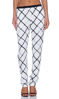 American Vintage Tulsa Slim Pant in Maxi White Tiles