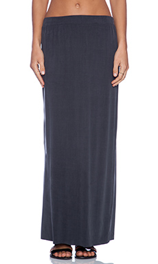 American Vintage Joliette Maxi Skirt in Carbon