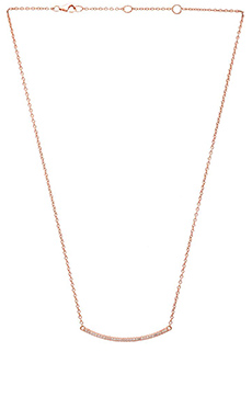Alex Mika Khloe Choker Necklace in Rose Gold