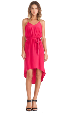 amour vert Eddie Dress in Raspberry